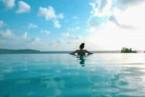 calabash cove st lucia hotel - infinity pool