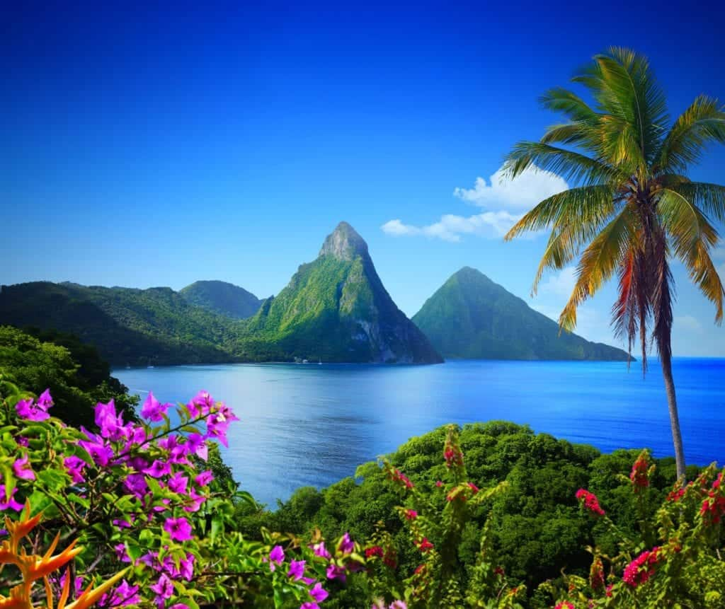 St Lucia romantic holiday